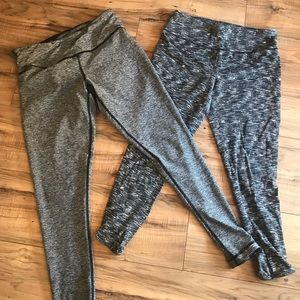 2 pr workout leggings! Mossimo and reversible!
